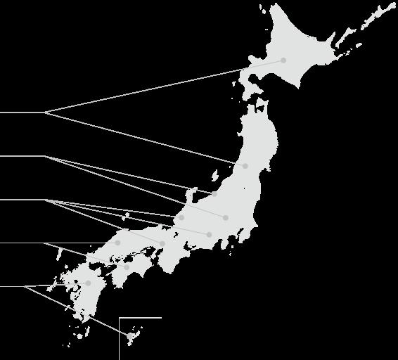 全国に広がる導入クラブ(日本)